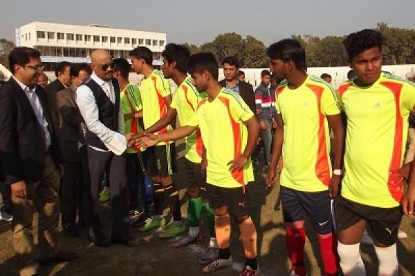 মাগুরায় বঙ্গবন্ধু  কাপ ফুটবল টুর্ণামেন্ট, আছাদুজ্জামান ফুটবল দল  জয়ী