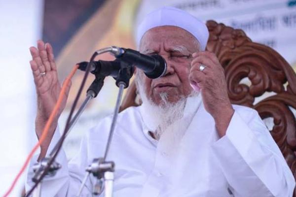 মুসলিম কখনো বালা-মুসিবত দেখে আতঙ্কি'ত হয় না: আল্লামা শফি