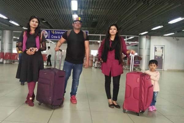 নেপাল থেকে ফোন : 'মা আমি বেঁচে আছি'