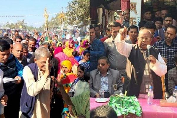 ঠাকুরগাঁও-১: মির্জা ফখরুলের সামনে শক্ত প্রতিদ্বন্দ্বী রমেশ সেন