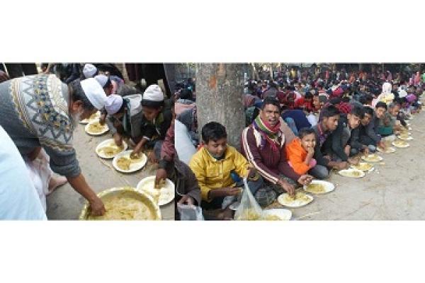 ২০ হাজার মানুষকে খাওয়ালেন ডেপুটি স্পিকার ফজলে রাব্বী