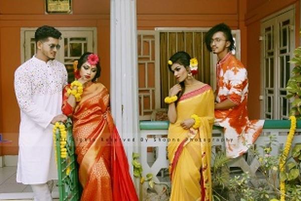 বসন্তের যুগলবন্দী রানওয়ে ম্যানিয়াকের মডেলরা