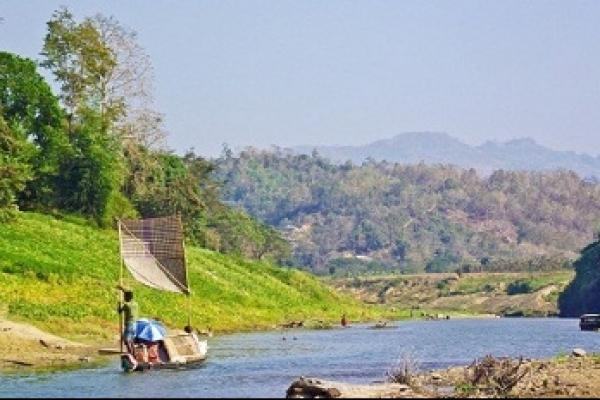 বাংলাদেশের দারুণ দৃষ্টিনন্দন সাঙ্গু নদী