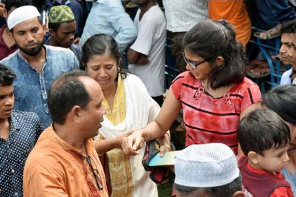 চোখের জলে প্রিয় নেতা পল্লীবন্ধুকে বিদায় জানাল রংপুরবাসী