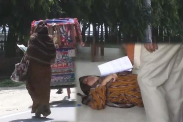 জ্ঞান ফিরতেই ডিসি অফিস থেকে দৌড়ে পালালেন সানজিদা ইয়াসমিন সাধনা