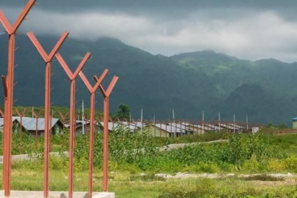 মিয়ানমারে রোহিঙ্গা মুসলিমদের গ্রাম ধ্বং'স করে তৈরি করা হচ্ছে পুলিশ ব্যারাক, সরকারি ভবন
