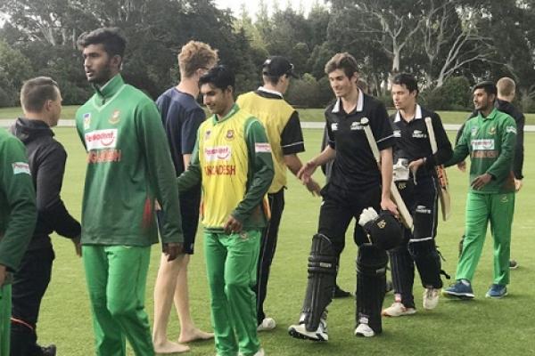 খেলা শেষ, মাঠ ছাড়ল বাংলাদেশ ও নিউজিল্যান্ডের ক্রিকেটাররা