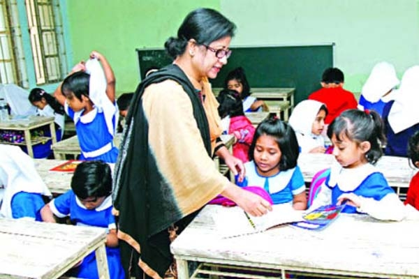 সরকারি প্রাথমিক বিদ্যালয়ে নেয়া হবে ১৮ হাজার শিক্ষক