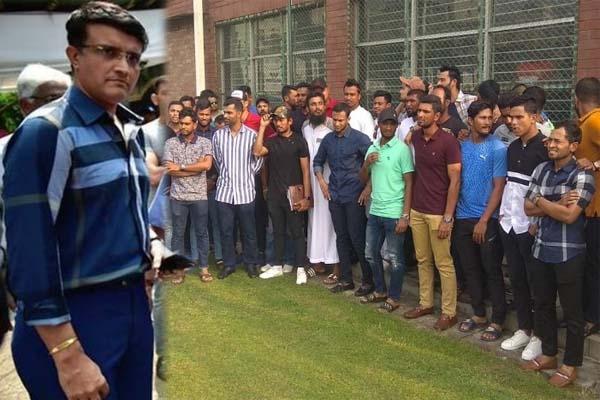 বাংলাদেশি ক্রিকেটারদের ধর্মঘট নিয়ে যা বললেন সৌরভ গাঙ্গুলি