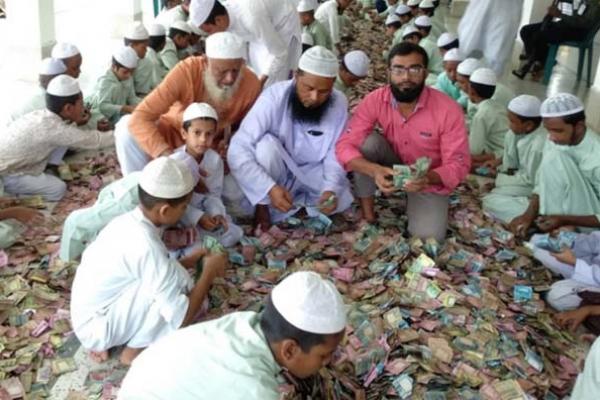 এবার পাগলা মসজিদের দানবাক্সে দেড় কোটি টাকা