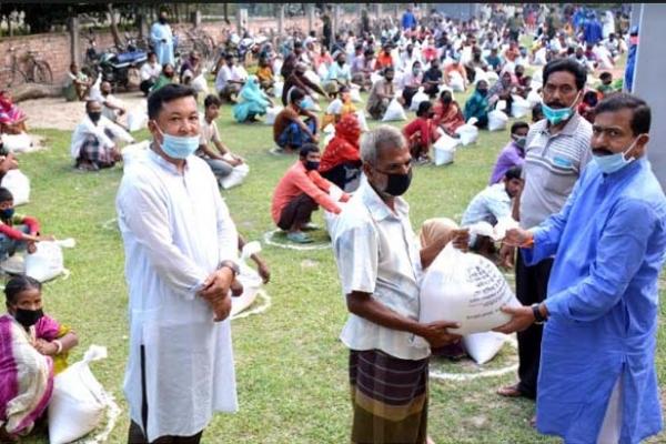 যতদিন করোনা থাকবে, ততদিন ত্রান দেয়া অব্যাহত থাকবে : এমপি গোপাল