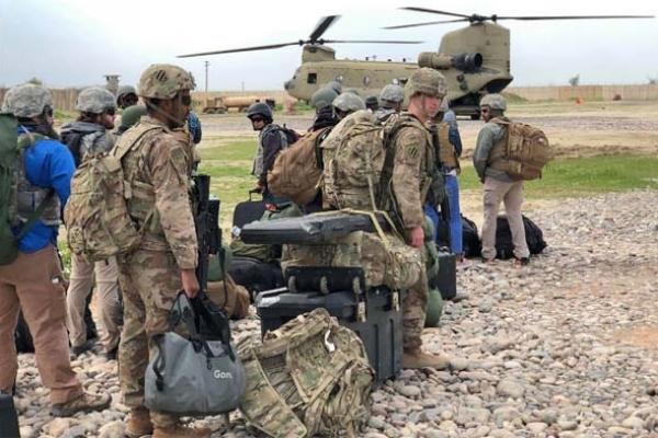 দ্রুত আফগানিস্তান ছেড়ে যাচ্ছে মার্কিন সেনারা