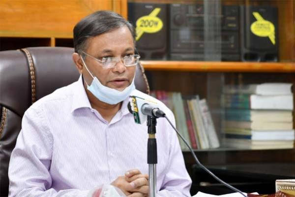 বিএনপি টিকা নিলে আমরা শক্তিশালী বিরোধী দল পাব : তথ্যমন্ত্রী
