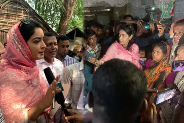 সুনামগঞ্জে নির্যাতিত হিন্দুদের বুকফাটা কান্না আমরা শুনতে পেয়েছি : নিপুণ
