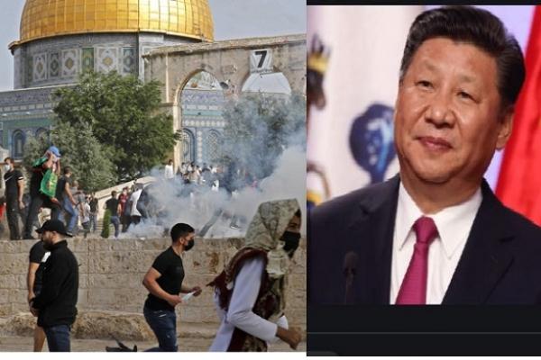 ইসরায়েলকে অবিলম্বে মুসলমানদের বিরুদ্ধে সহিংসতা, হুমকি ও উসকানি বন্ধ করতে হবে: চীনের হুশিয়ারি