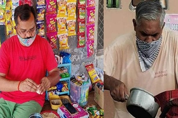 জীবন চালাতে চা-সিঙ্গাড়া বিক্রি করছেন কোচরা