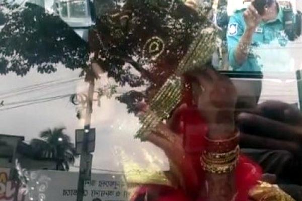 'সীমিত পরিসরে বিয়ে' করেও বর-কনেকে গুনতে হলো ১০ হাজার টাকা জরিমানা