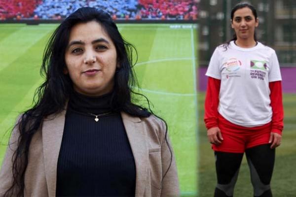 তালেবান চারিদিকে ঘুরছে, লুকিয়ে পড়ো : সতীর্থদের উদ্দেশ্যে মহিলা আফগান ফুটবলার খালিদা