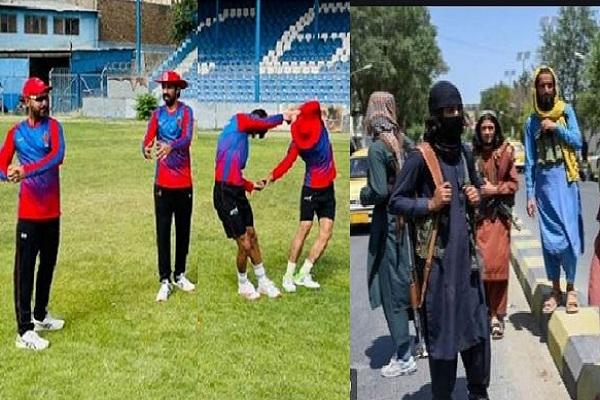 আজ কাবুলে অনুশীলন করল আফগান ক্রিকেটাররা