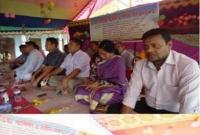 পানছড়ি ডিগ্রী কলেজের ২৩তম প্রতিষ্ঠা বার্ষিকী-নবীণ বরণ