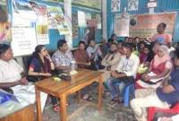দুর্গাপুরে রাজশাহী বিশ্ববিদ্যাল'র ফোকলোর বিভাগের মতবিনিময়