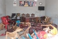 কেশবপুরে আব্দুস সামাদ বিশ্বাসের নির্বাচনী অফিস ভাংচুর