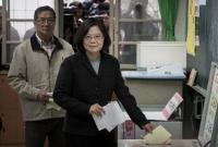 তাইওয়ানে প্রথম নারী রাষ্ট্রপতি নির্বাচিত