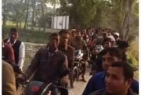 তজুমদ্দিনে দ্বীপবন্ধু যুব ঐক্য পরিষদের আনন্দ শোভা যাত্রা