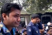 সোনামসজিদ মহাসড়কে ট্রাকচাপায় দু'পুলিশ কর্মকর্তা নিহত