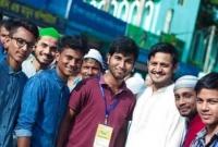 শ্রীমঙ্গলে ঈদের জামাতে স্বেচ্ছাসেবক পাহারাদার হিন্দুরা