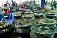টুঙ্গিপাড়ায় ৩৫ হাজার মানুষের চাটগাঁইয়া মেজবান