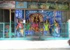 দুর্গা মন্দিরে ককটেল বিস্ফোরণ