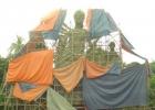 বাংলাদেশের ইতিহাসে সর্বোচ্চ উচ্চতার দুর্গা প্রতিমা নোয়াখালীতে