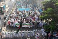 'মুসলিম মিল্লাতের ঐক্য গড়ে তুলে সারা বিশ্বের নির্যাতিত মুসলিমদের পাশে দাড়াতে হবে'
