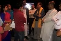 এসকে সিনহার বাড়ি পরিদর্শন করলেন ভারতীয় ডেপুটি হাই কমিশনার