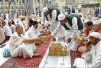 মসজিদুল হারামে একত্রে ইফতার করেন প্রায় ১৫ লাখ মুসল্লি
