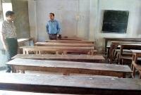 আকস্মিক স্কুলে উপস্থিত ইউএনও, ক্লাসে নেই কোন শিক্ষার্থী