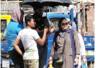 কারওয়ান বাজারে সবজির আড়তে চলছে ইরানি ছবির শুটিং