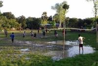 যে গ্রামে জমি ভাড়া করে চলে ফুটবল খেলা!