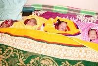 একসঙ্গে চার সন্তানের জন্ম দিলেন নাজনিন নাহার