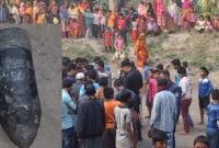 রংপুরের পুকুরে পাকিস্তানি রকেট লঞ্চার