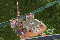 টাঙ্গাইলে-বিশ্বরেকর্ড-২০১-গম্বুজ-দৃষ্টিনন্দন-মসজিদ