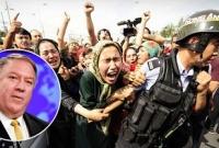 চীনে উইঘুর মুসলিম নিপীড়নকে 'শতাব্দির কলঙ্ক': যুক্তরাষ্ট্র