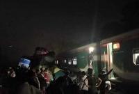 কসবায় দুই ট্রেনের ভ'য়াব'হ সংঘর্ষে ১৫ জনের প্রা'ণহা'নি