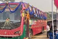 গাজীপুর-থেকে-বিমানবন্দর-পর্যন্ত-বিআরটিসির-এসি-বাস-চালু