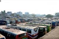 রাজশাহী-থেকে-ঢাকাসহ-দূরপাল্লার-সব-রুটে-বাস-চলাচল-বন্ধ