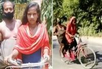 সাতদিনে-১২০০-কিমি-রাস্তা-সাইকেল-চালিয়ে-অসুস্থ-বাবাকে-নিয়ে-বাড়ি-ফিরলেন-অষ্টম-শ্রেণির-ছাত্রী-