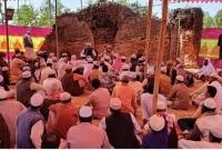 জয়পুরহাটে-৭শ'-বছরের-পরিত্যক্ত-মসজিদে-পুনরায়-আজান-ও-নামাজ-শুরু-