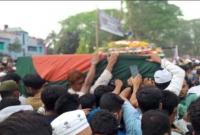 নোয়াখালীতে মা-বাবার পাশে শায়িত হলেন মওদুদ আহমদ