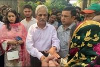 সুনামগঞ্জে নির্যাতিত হিন্দু ধর্মাবলম্বীদের পাশে বিএনপি